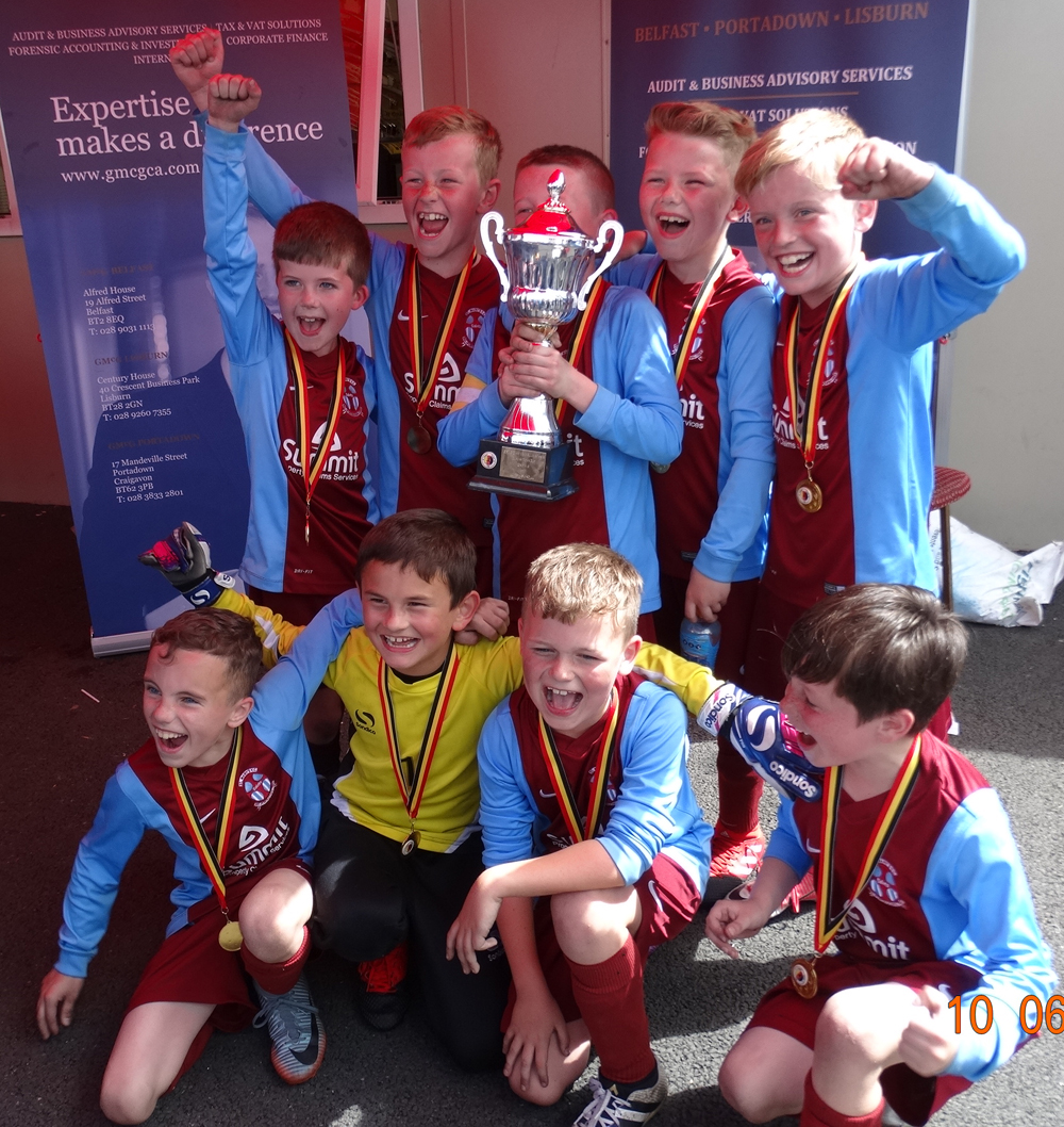under 9 cup winners st marys