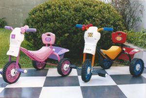 "Triciclo metal (rueda chapa) Space ""rodasur"""