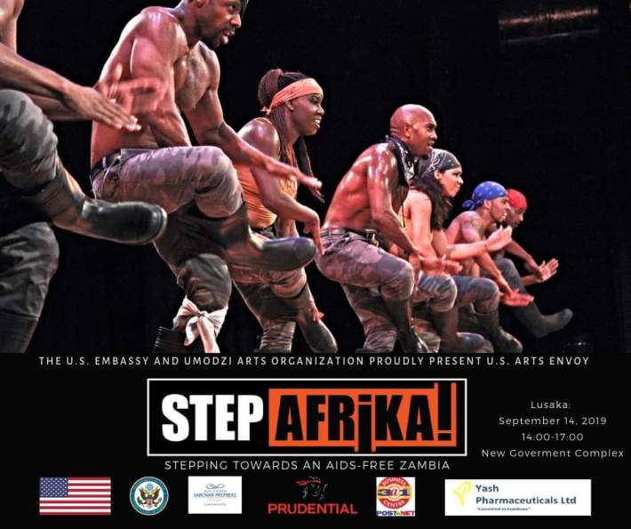 The Step Africa Dance Group in Action.Picture Courtesy of U.S Embassy Zambia