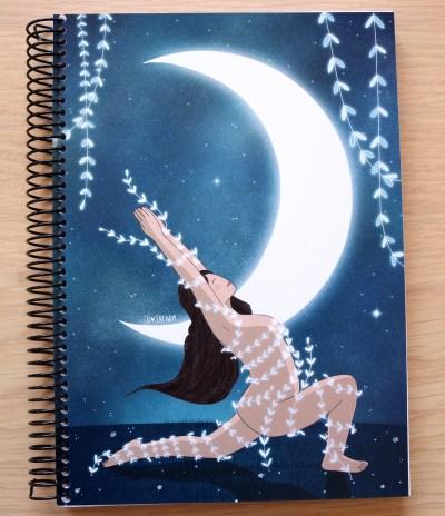 libreta luna creciente