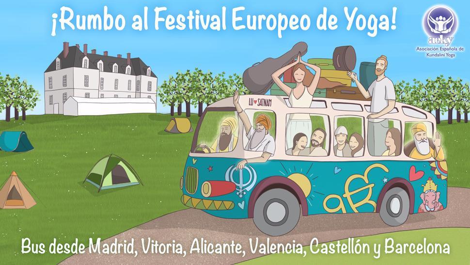 banner bus festival