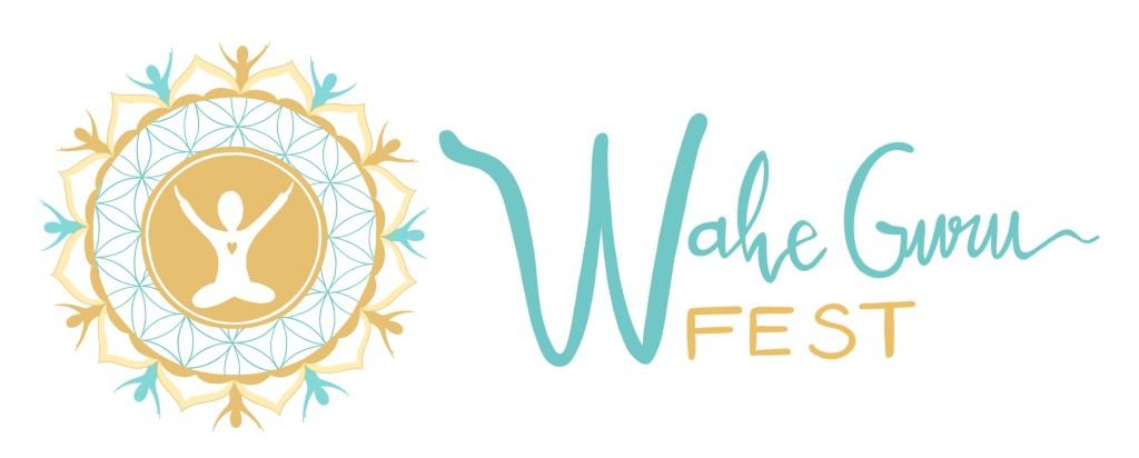 logotipo wahe guru fest