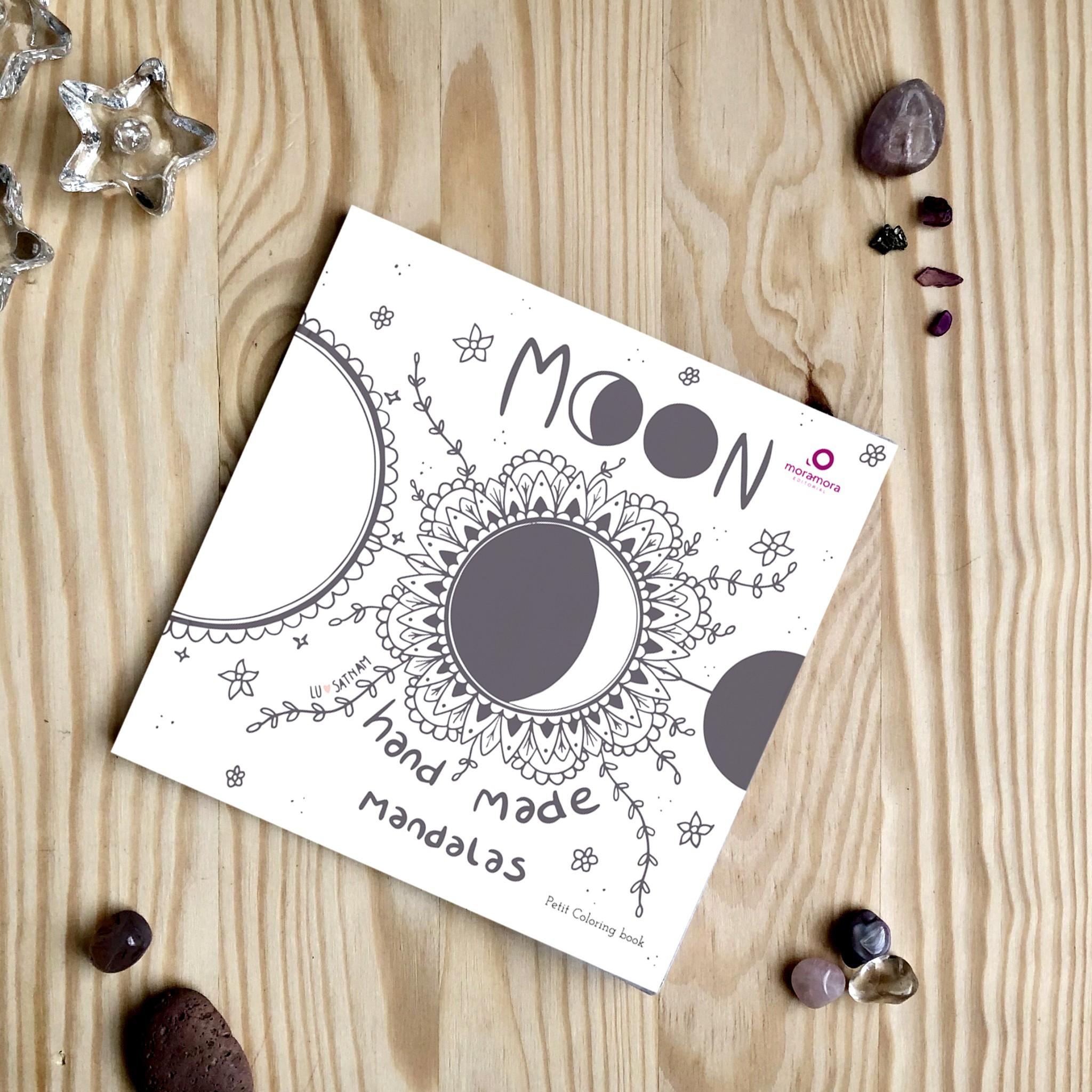 Moon handmade mandalas