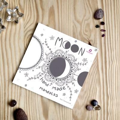moon hand made mandalas