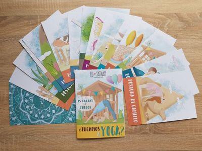 Cartas yoga para niños