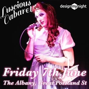 Dinona Pussay talking into a microphone labelled Friday 7th June