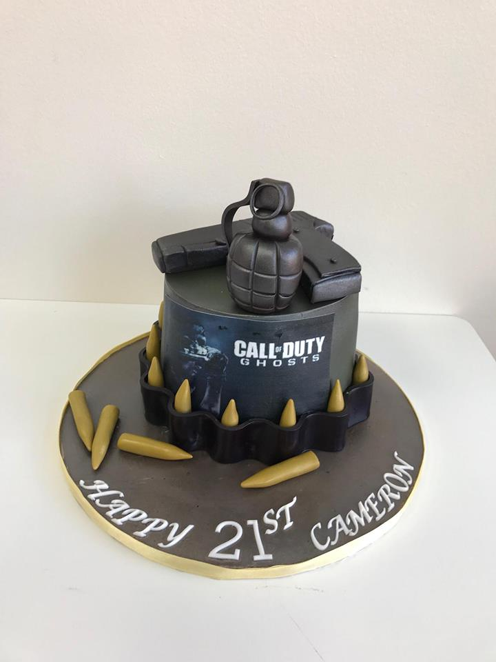 Call Of Duty Birthday Cakes Luscious Lovelies Cakes