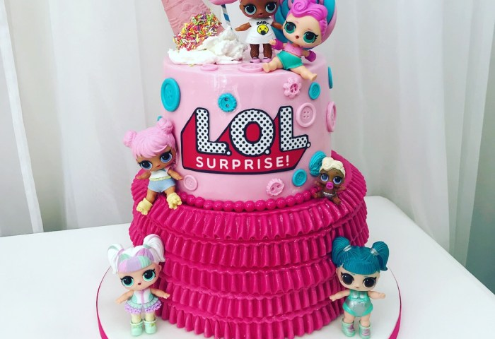 Lol Surprise Doll Birthday Cake Luscious Lovelies Cakes