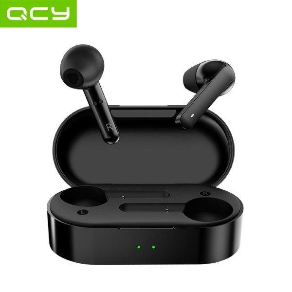 QCY T3 TWS Fingerprint Touch Wireless Headphones Bluetooth V5.0 3D Stereo Dual