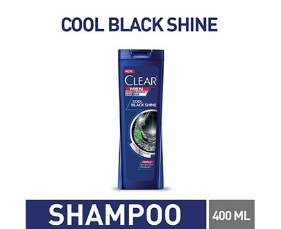 CLEAR COOL BLACK SHINE SHAMPOO 400ML