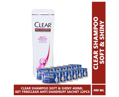 CLEAR SHAMPOO SOFT sHINY min