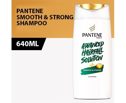 PANTENE smooth STRONG Shampoo 650ml