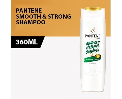 PANTENE smooth sTRONG Shampoo 360ml