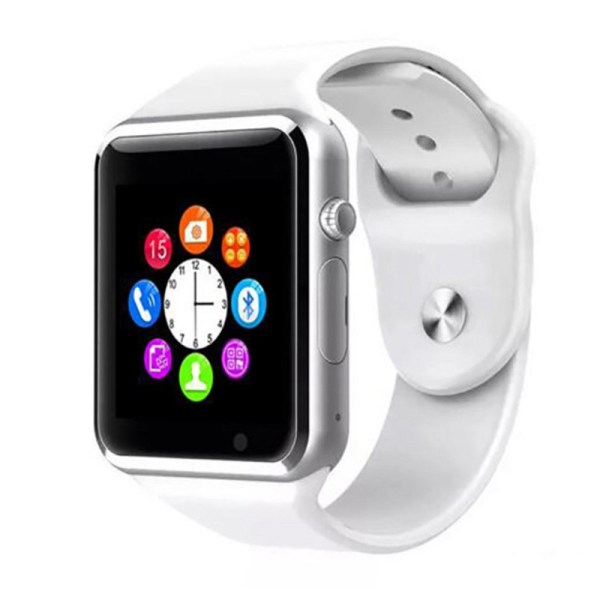 Free Shipping A1 WristWatch Bluetooth Smart Watch Men Sport Pedometer with 20