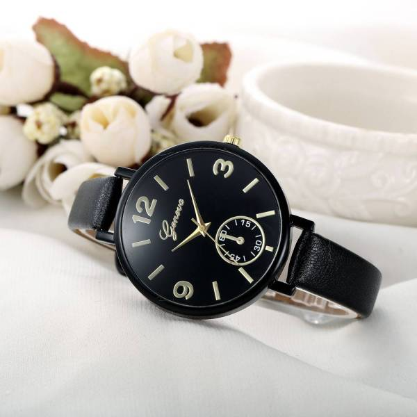 Geneva Hot Sale Luxury Simple Watches Women Watch Autom 5