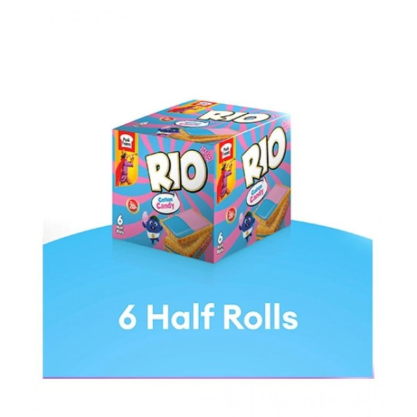 peek freans rio cotton candy biscuit half roll pack of 6