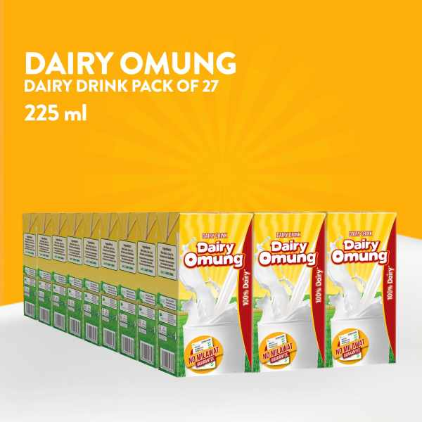 Dairy Omung Milk 225ml Pack of 27 min 1