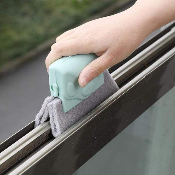 2020 Creative Window Groove Cleaning Cloth Window Cleaning Brush Wi | Online In Pakistan