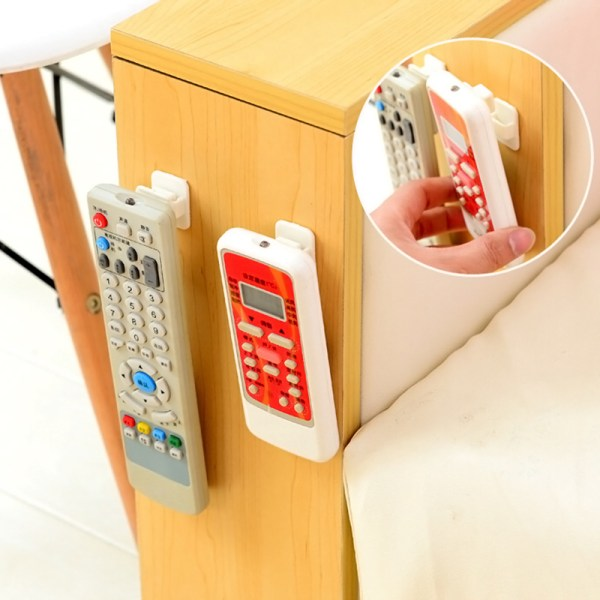 New 2Pcs Set Wall Mounted Remote Control Storage Hook Conditioner Hot Supplies Hol   Online In Pakistan