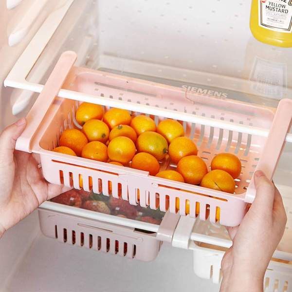 Retractable Fridge Drawer Organizer Food Fruit Containers for   Online In Pakistan