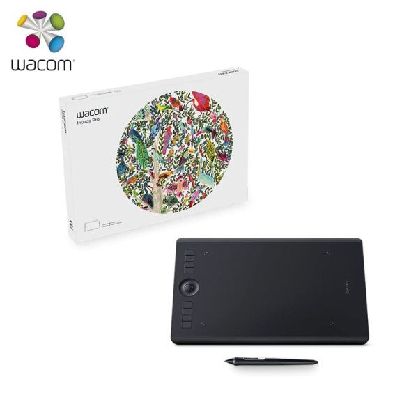 Wacom Intuos Pro PTH 660 Digital Graphic Drawing Tablet for Mac or PC Medium Size 8192 Pressure Level1 | Online In Pakistan