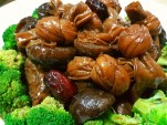 black olive braised belly