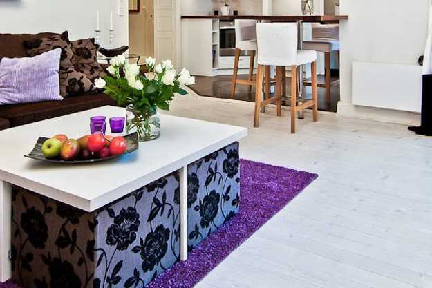 White Decorating Ideas And Bright Accents Show Modern