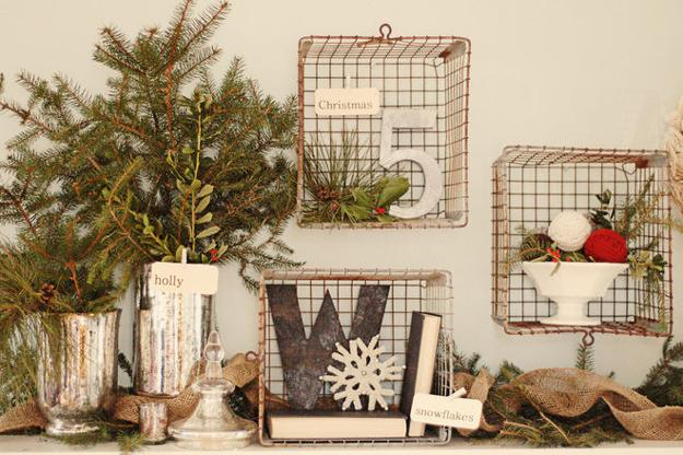 22 Country Christmas Decorating Ideas Enhanced With