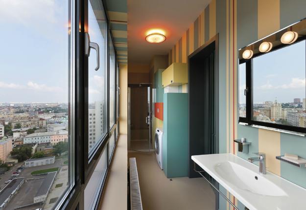 Modern Apartment Ideas, Space Saving Interior Design With