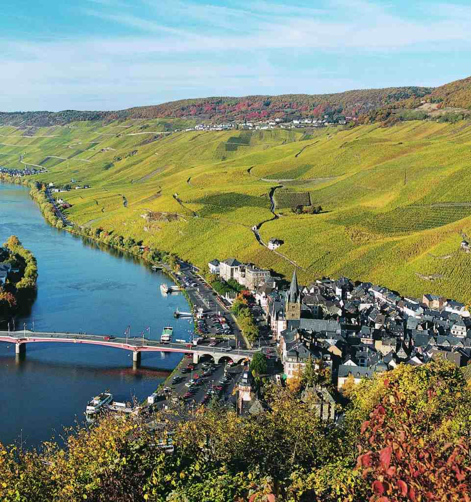 Bernkasteler Lay vineyard, Germany | wineries with a view