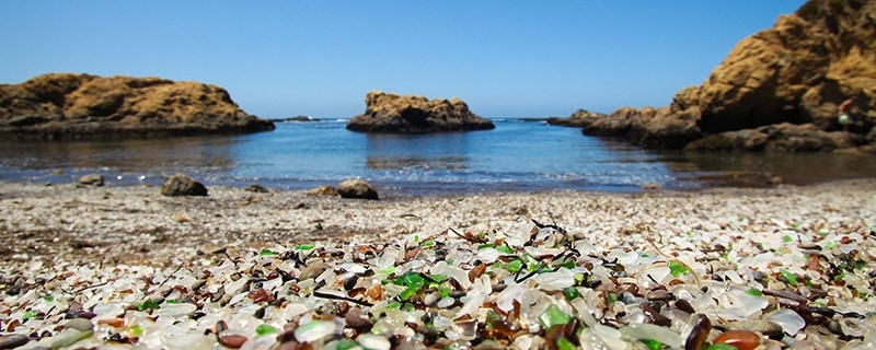 Glass Beach, California | Most Beautiful Beaches