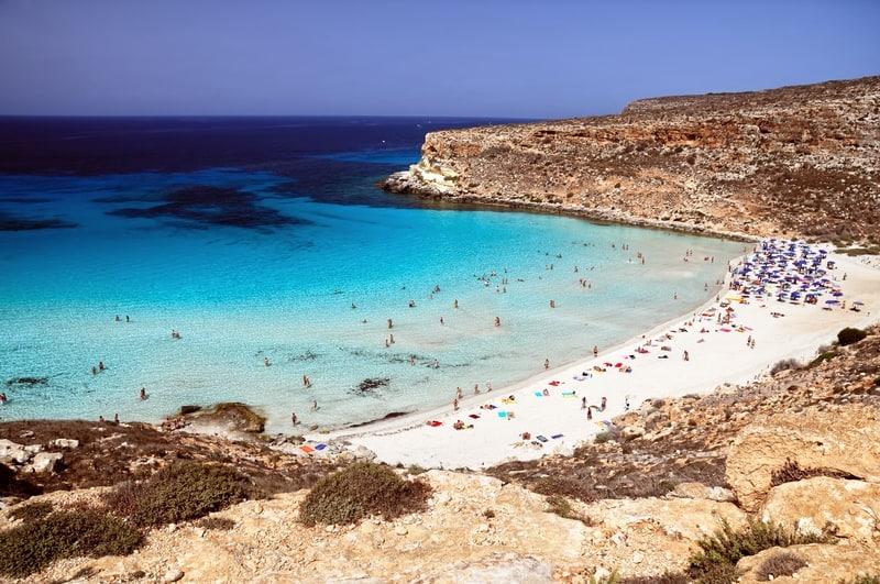 Rabbit Beach, Lampedusa, Sicily | Most Beautiful Beaches