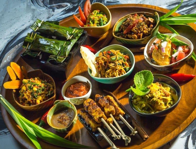 Vegetarian food in Bali