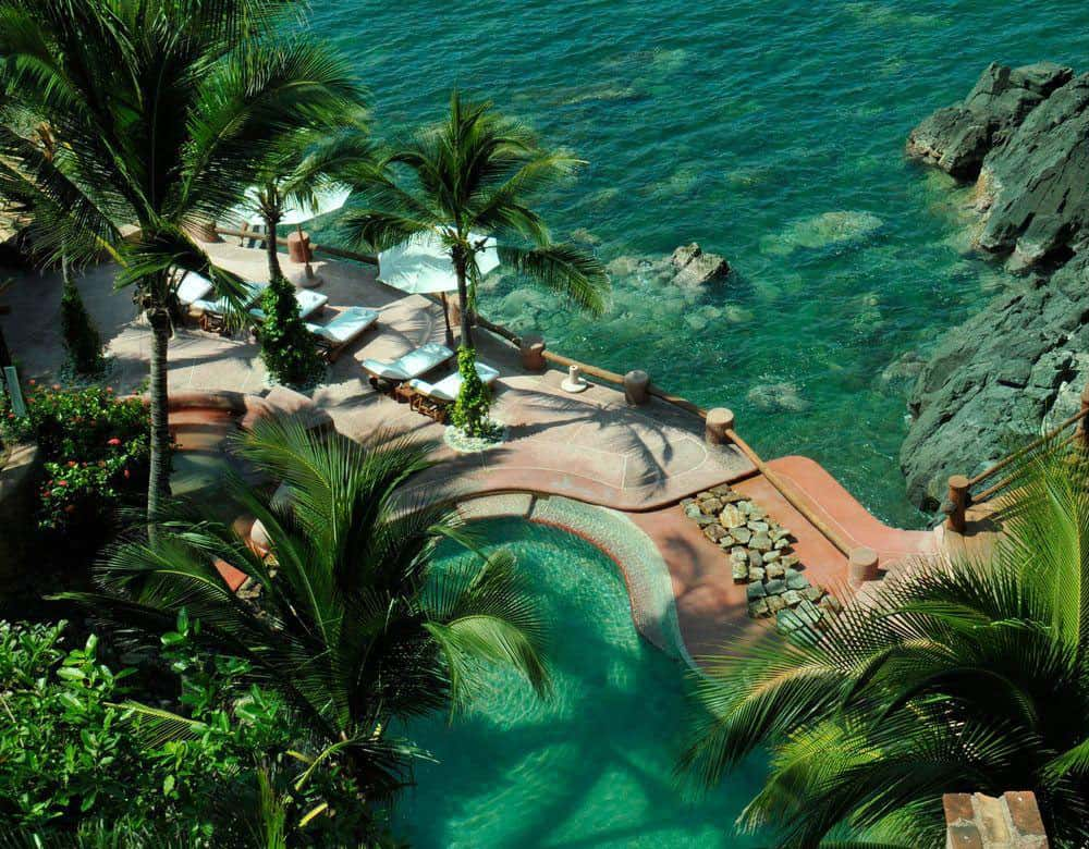 Most Beautiful Pools In The World | Casa Que Canta, Mexico