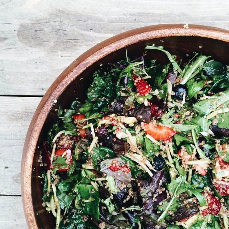 Summer Berry Superfood Salad