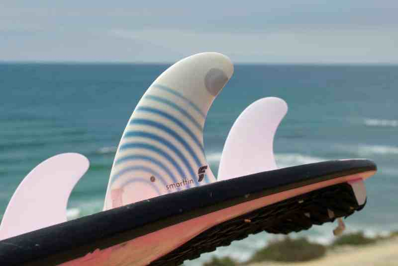 Smartfin / surfboard fin / Fight Climate Change While You Surf