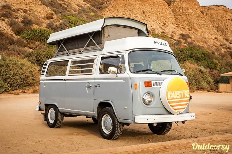 camper van rentals california