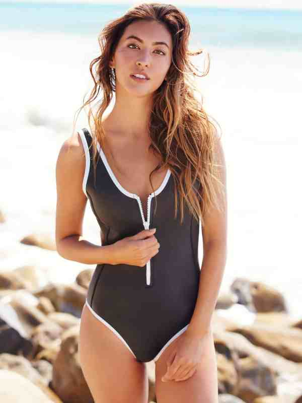 one piece swimsuits / sicily scoop neck one piece / duskii