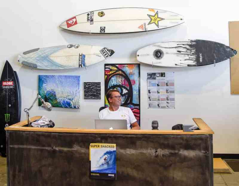 superbrand surfboards justin cote