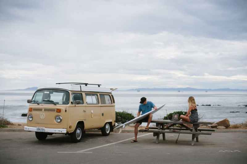 Best beach camping in California / Carpenteria