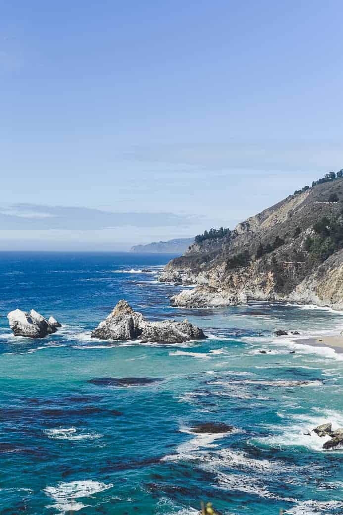 pacific coast highway surf / Big Sur