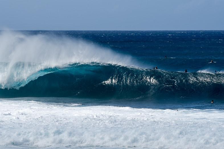 Pipeline, North Shore Oahu