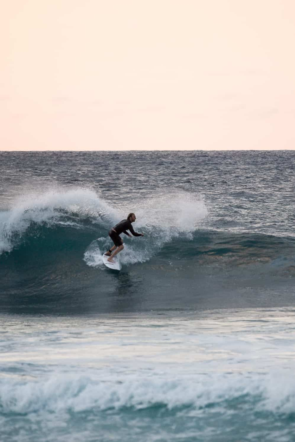 North Shore Oahu surfing