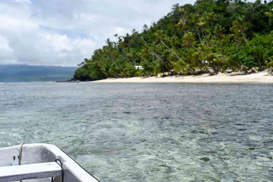 surf trip Fiji islands Qamea island