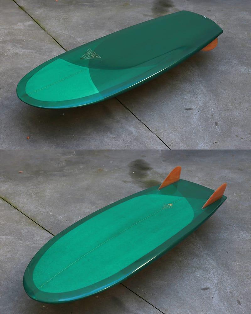surfboard twin fin feel flows portugal