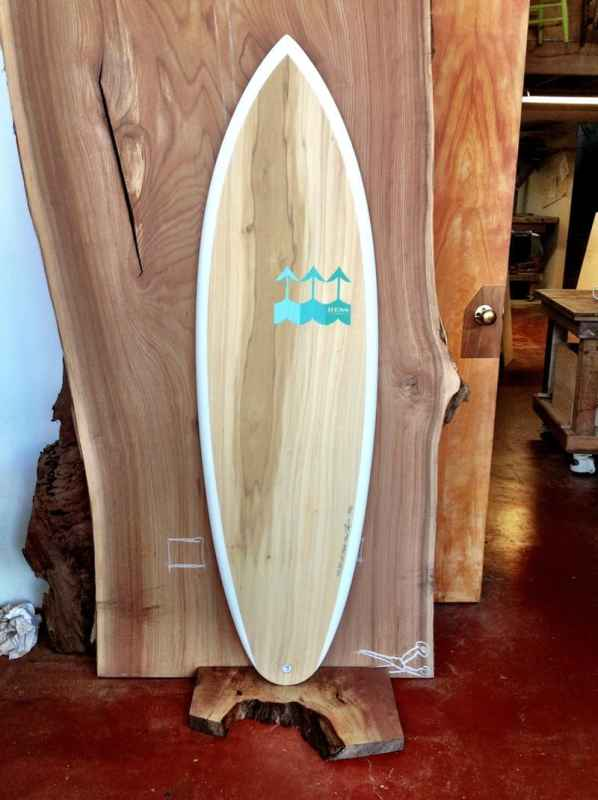wood surfboard hess surfboards