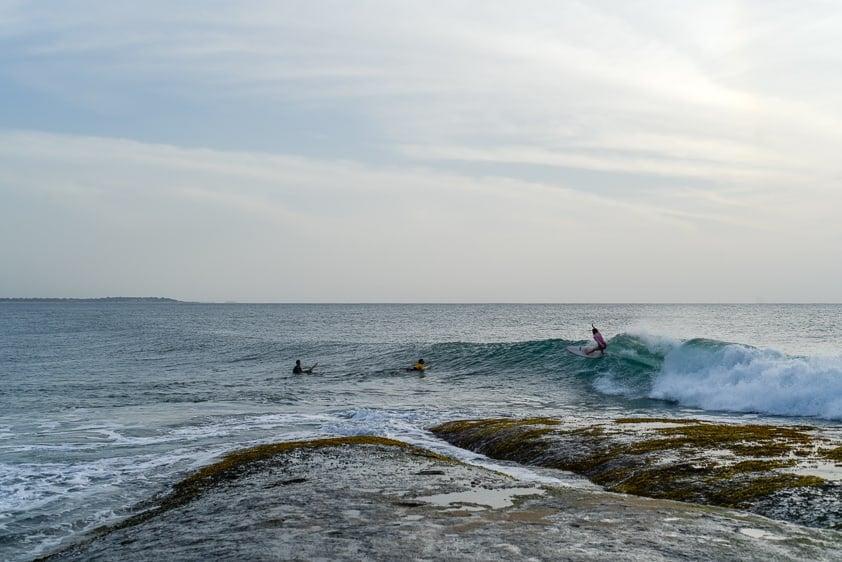 surfing sri lanka okanda surf