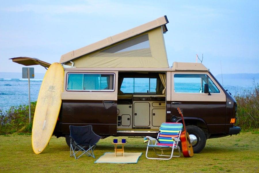 Oahu Hawaii camper van rental