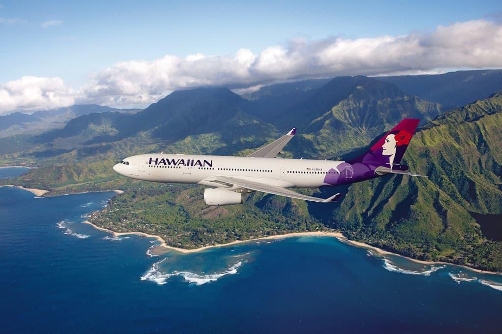 Oahu Hawaii Hawaiian Airlines
