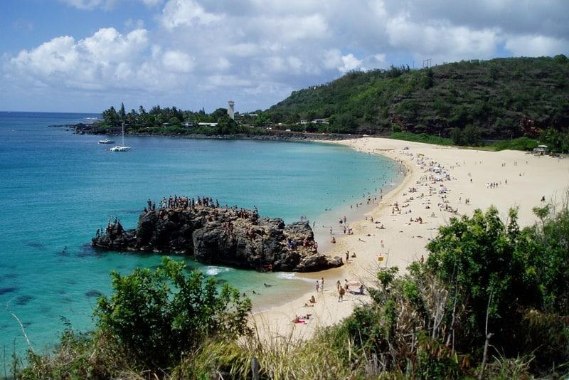 Oahu Hawaii Waimea Bay